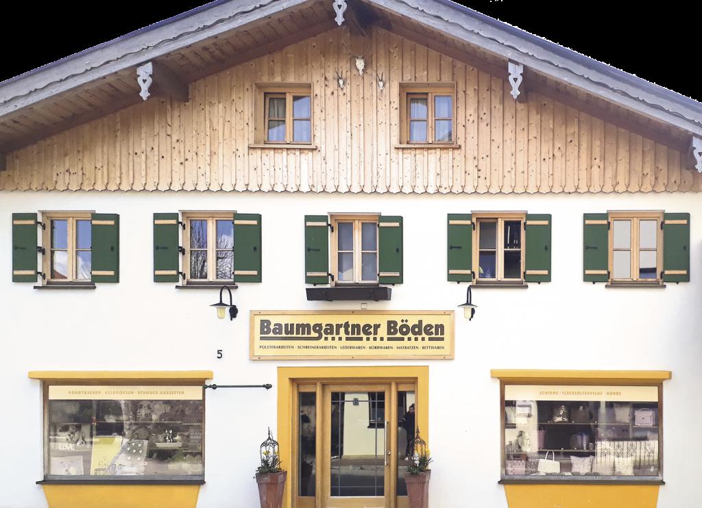 Baumgartner Böden Ladengeschäft